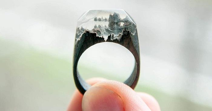 anillo de resina epoxi