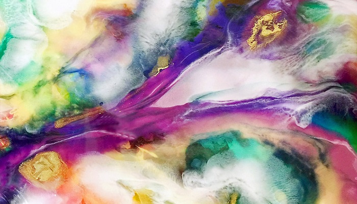 arte de la resina epoxi colores y manualidades
