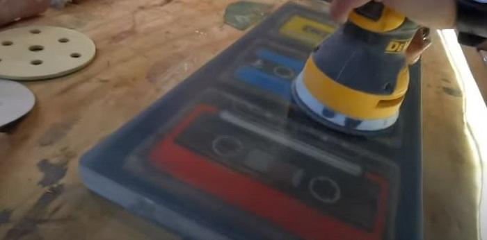pulir resina epoxi