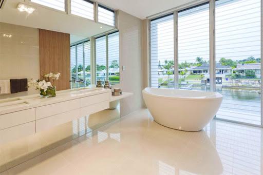 resina epoxi suelo baño